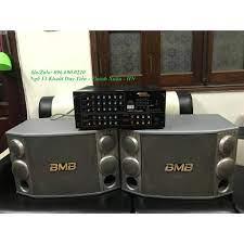 Bộ dàn Karaoke - Nghe nhạc gia đình Gồm Đôi loa BMB 1000 bass 30 + âm ly  Jarguar PA 506N + Tặng Micro chính hãng 5,200,000đ