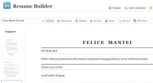 Appealing Resume From Linkedin 19 For Your Example Of Resume with Resume  From Linkedin