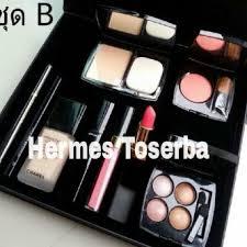 paket 9 in 1 chanel make up set makeup indonesia
