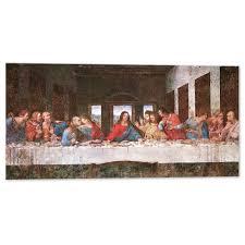 Ultima cena Leonardo da Vinci -100x50 cm