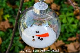 melted snowman ornament 2