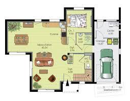 ... Plan Habillé Rdc   Maison   Maison Contemporaine 12