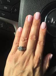 sns nails pale pink 121