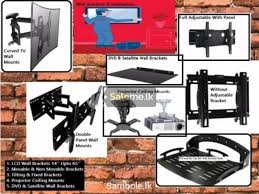 led tv dvd projector wall mounts