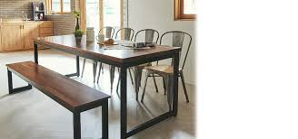 industrial kitchen table furniture. Tinwood Scandi Industrial Merbau Dining Table 1800 Kitchen Furniture