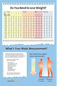 Waist Circumference Chart Amazon Com Bmi And Waist Circumference Books Office
