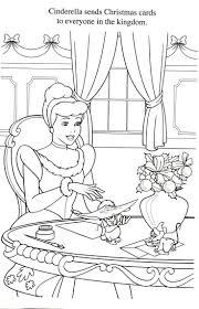 Cinderella Making Christmas Cards