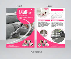 carpet cleaning flyer modern bold flyer design for home hygiene by anushka snigdha