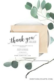 Company Thank You Cards Business Thank You Cards Templates Lovely