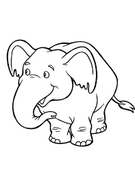 Small Picture Cute Baby Elephant Coloring Page NetArt