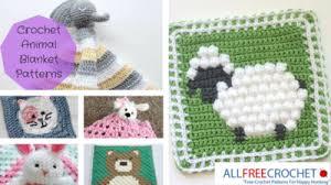 Crochet Animal Patterns Adorable 48 Crochet Animal Blanket Patterns AllFreeCrochet