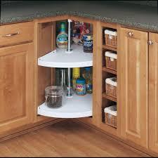 Kitchen Lazy Susan Cabinet Rev A Shelf 32 In H X 28 In W X 28 In D White Polymer 2 Shelf