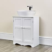 new white under sink cupboard bathroom furniture storage cabinet with shelving oxford white under sink cabinet co uk kitchen home