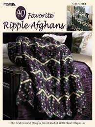 Ripple Afghan Pattern Unique Decorating Design