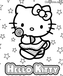 Kinder Kleurplaten Hello Kitty Brekelmansadviesgroep