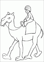 Small Picture Camel travel coloring page