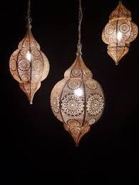modern moroccan lighting. mooie handgemaakte filigrain hanglamp uit india die volledig van koper is gemaakt de buitenkant lamp mat wit gespoten modern moroccan lighting f