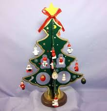 Mini holiday ornament tree