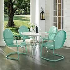 outdoor rocking chairs steel set patio