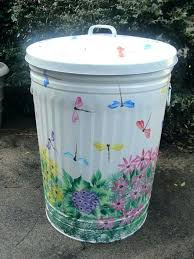 decorative metal trash can s s decorative metal trash can decorative metal waste bin decorative metal trash