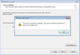 How To Fix The Error The Action Cannot Be Completed The Name