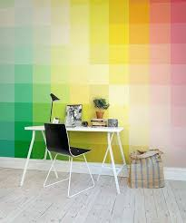 office backdrop. Glamorous A Colorful Backdrop For Your Cool Home Office From Rebel Walls Style Wallpaper
