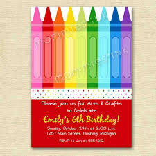 invitations art craft sewing parties for chicago kids painting paint art arts and crafts birthday party