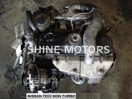 USED ENGINE NISSAN TD27 2.7 DIESEL NON TURBO | Shine Motors