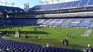 M T Bank Stadium Section 121 Home Of Baltimore Ravens