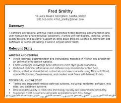 Profile Example Resume 9 10 Skills Profile Resume Examples Archiefsuriname Com