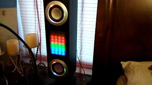 Craig Lighted Bluetooth Tower Speaker Craig Speaker