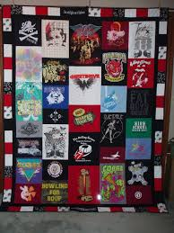 Twin/Full Size Patchwork Style Tshirt Quilt made from your clothes ... & Twin Size Patchwork Style Tshirt Quilt made from your clothes CUSTOM ORDERS.  $380.00, via Adamdwight.com