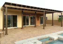 brown aluminum patio covers. Aluminum Patio Covers Or Full Roof Solid Cover With Fiberglass Polls 96 . Brown I