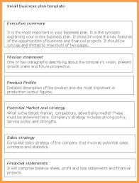 A Simple Business Plan Template Simple Startup Business Plan Template Hostingpremium Co