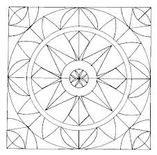 Geometric Pattern Coloring Pages Geometric Colouring Pages Islamic