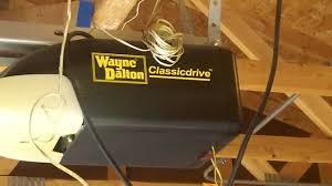 wayne dalton garage door opener manualWayne Dalton Classic Drive piece of junk Garage Door Opener Eyes
