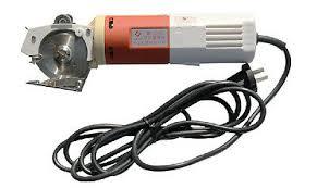 220V Electric <b>Cloth</b> Cutter <b>Fabric Cutting Machine YJ</b>-<b>65</b> Scissors ...