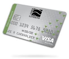 picture of business credit card