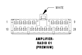ram standard radio wiring diagram page com amplifier radio c1 premium white 20 way cav circuit