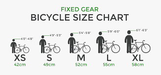 Fixed Gear Bike Frame Size Chart Transparent Gear Bike Fixed Gear Size Chart 2625515