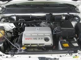2004 Toyota Highlander Limited V6 3.3 Liter DOHC 24-Valve VVT-i V6 ...