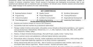Market Research Analyst Description Computer Systems Analyst Resume