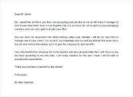 Thanks For Offer Letter Miraculous Thank You Letter For Job Offer Thanks Confirmation