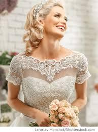 Hochzeitsfrisur Flechtzopf Blondes Haar F R Russische Hochzeiten