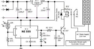 circuit diagram of automatic street light using ic 555 circuit automatic street light circuit diagram automatic auto wiring on circuit diagram of automatic street light using