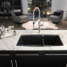 blanco performa 33 x 19 silgranit ii 1 3 4 double bowl undermount sink anthracite 441312 bbq guys