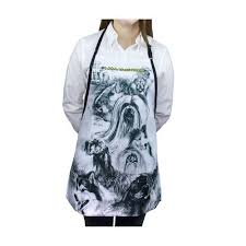 #<b>1 All Systems</b> Dog Print Apron - Cherrybrook Pet Supplies