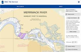 Noaa Chart Updates Noaa Rnc Tile Service Displays First Enc Only Product News