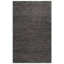 ellington black white 2 ft x 3 ft rectangle area rug
