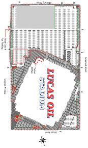 Getting Around Los Maps Parking Lucas Oil Stadium